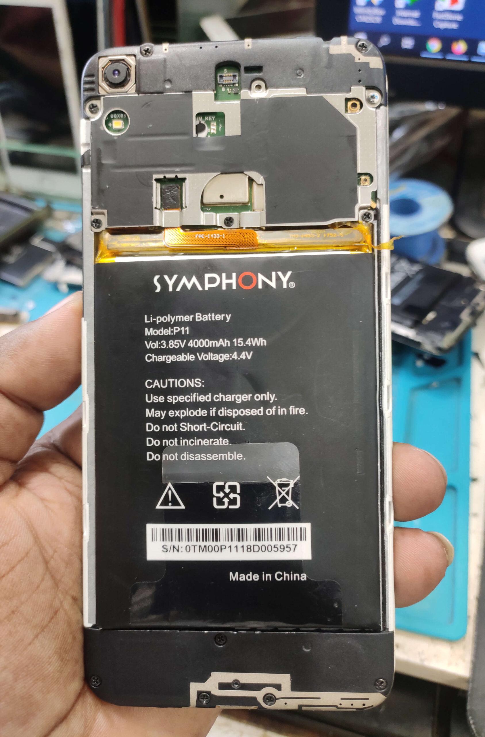 Symphony P11 Flash File [Dead Fix Frp Fix] Care Firmware