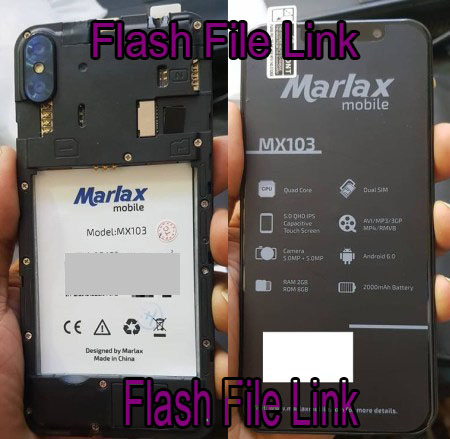 Marlax Mx103 Flash File [Dead Fix\Hang Logo Fix]Firmware