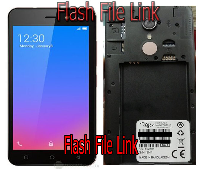 Itel A33 Flash File All Version Stock Rom Firmware