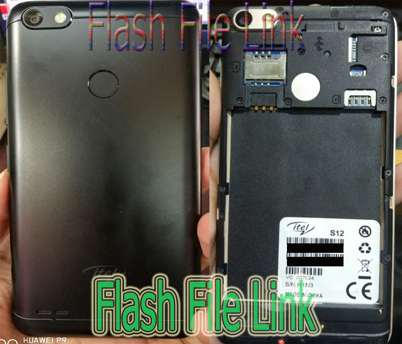 Itel S12 MT6580 Flash File Care Firmware