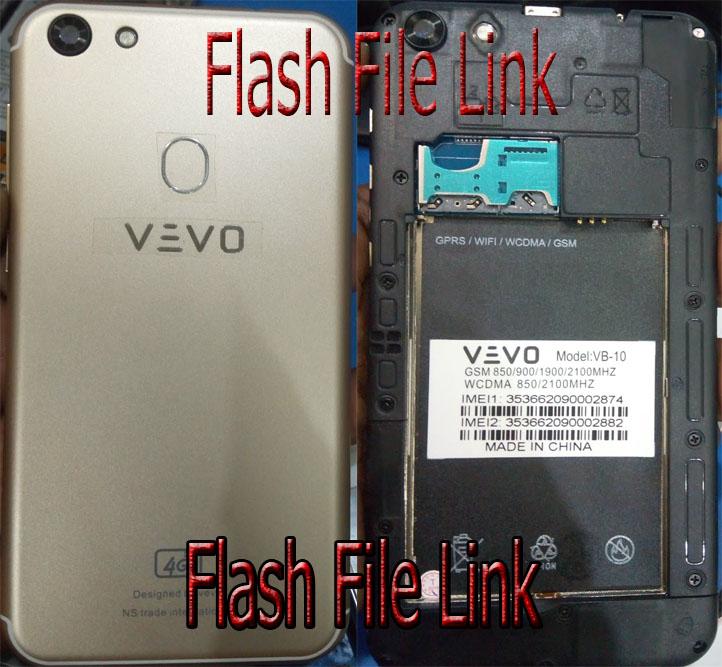 Vevo VB-10 Flash File [Dead Boot] All Version Firmware