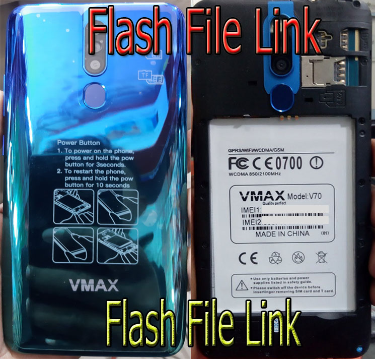 Vmax V70 Flash File MT6580 [Hang Logo]  Stock Rom Firmware