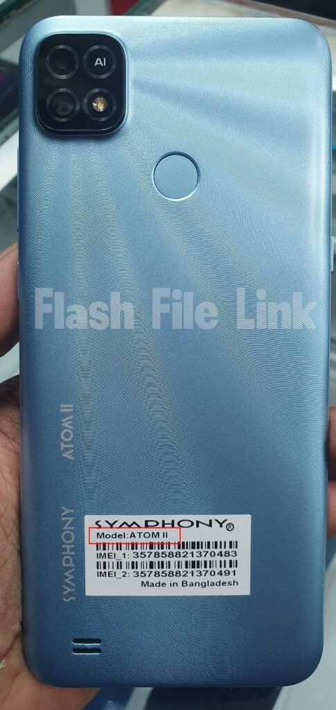 Symphony Atom 2 II Flash File SPD (Hang Logo Frp Fix) Firmware
