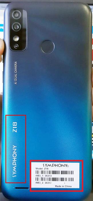 SYMPHONY Z18 FLASH FILE SPD (HANG LOGO FRP FIX) FIRMWARE